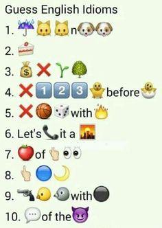 100 emoji quiz 2 answers 51 100 emoji pinterest emoji quiz idioms in emojis fandeluxe Images