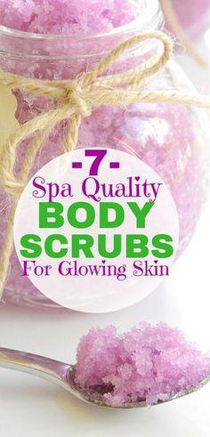 DIY Body Scrubs for Glowing Skin