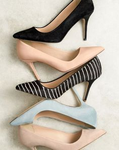 J.Crew women's Elsie pumps. I know, I know they're not flats but I like them a lot!!!