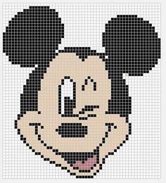 Mickey Mouse x-stitch Patchwork Disney, Disney Quilt, Disney Cross Stitch Patterns, Cross Stitch Designs, Cross Stitch Baby, Cross Stitch Charts, Cross Stitching, Cross Stitch Embroidery, Stitch Disney