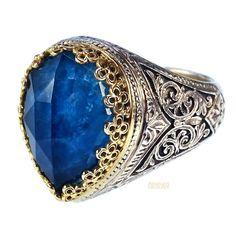 Pop Rocks Dakru Crown Ring