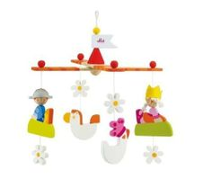 Sevi B My Prince Cross Mobile Toy by MagicForest. $40.38. From the Manufacturer                The Prince and Princess chase each other through gardens of daisies with their mythical friends. Colorfully hand-painted, the lovely wooden B My Prince mobile from Sevi will add charm to any child's room. It is designed to be hung over a crib or bassinet.                                    Product Description                Sevi B My Prince Cross Mobile oyThe Prince and Princess...