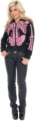 Women's Black & Pink Skeleton Hoodie FRA,http://www.amazon.com/dp/B004993AXC/ref=cm_sw_r_pi_dp_4OR9rb1S8RQ5T97G