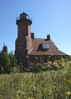 Squaw Island Lighthouse Michigan