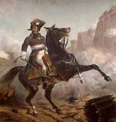 Alex. Davy Dumas / Gemälde Pichat of artist Olivier Pichat, -gemälde, -reiterbildnis, 1762-villers-cotterêts, 1806, 1825-1912, Aisne, Alexandre, Davy