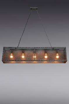 Buy Mesh 5 Light Linear Pendant from the Next UK online shop