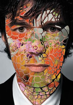 Stefan Sagmeister - non-traditional portrait idea Stefan Sagmeister, Collages D'images, Collage Art, Photomontage, Ap Studio Art, A Level Art, Arts Ed, Ap Art, Gcse Art
