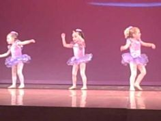 Age 3-4 Ballet, Little Things2, Spring 2012