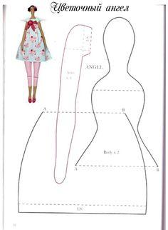 Image result for muñeca rusa de trapo paso a paso
