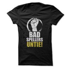 Bad Spellers Untie!