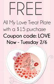 Free treat plate