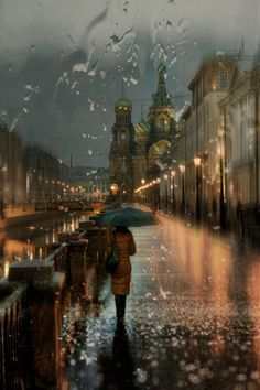Russia- would love to go and walk these streets one more time.
