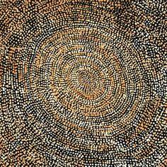 Sarah Napurrurla Leo, Ngapa Jukurrpa (Water Dreaming), 30x30cm