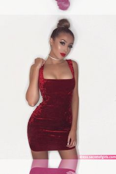 Sexy Short Mini Velvet Spaghetti Strap Red Prom Dress ,party Dress on Luulla Hoco Dresses, Prom Party Dresses, Homecoming Dresses, Cute Dresses, Evening Dresses, Formal Dresses, Dress Party, Amazing Dresses, Wedding Dresses