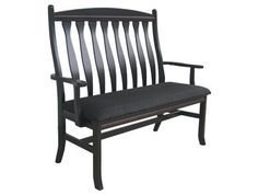 Amish Springer Bench 485 - Brandenberry Amish Furniture