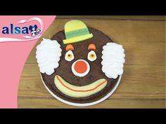TUTO DECO : Gâteau Clown - Alsa - YouTube
