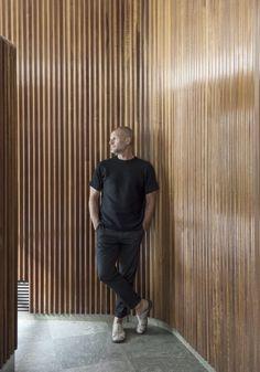 Johnny APT Residence in June 2016 Stockholm Interior Walls, Interior And Exterior, Interior Design, Window Frames, Sacred Art, Cladding, Villa, Architecture, Furniture