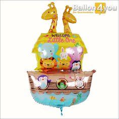 Ballonbukett geschenk zur geburt m dchen der gro e for Welche poolfolie 0 6 oder 0 8