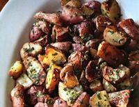 Garlic & Herb Baby Red Potatoes