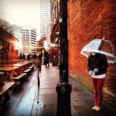Rainy days don't get me down.