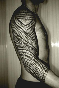 Samoan Tattoo. I'm not Samoan but that's cool