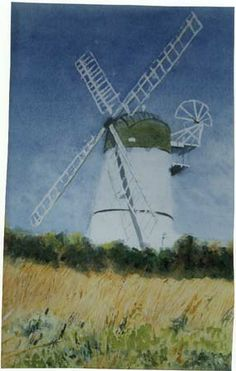 Patcham windmill Brighton, Sussex. UK