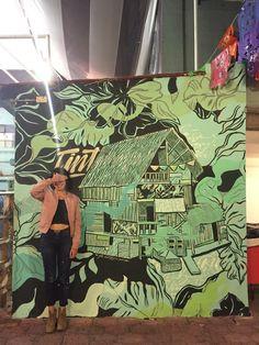 Root Rises Y Revost Muro Street Art Pinterest Street - Building in berlin gets transformed by amazing 137 foot tall starling mural