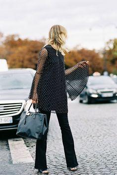 Vanessa Jackman: Paris Fashion Week SS 2016....Natalie