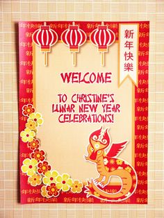 Chinese New Year Party via Bird's Party #ChineseNewYear #PartyIdeas #Festa #Chinesa #Anniversaire #Chinois #Party #PartySupplies #Pirntables