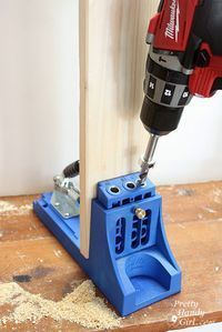 how to use a kreg jig: the BEST tutorial I've seen yet. #woodworkingbench