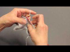 Lär dig minska två maskor samtidigt - YouTube