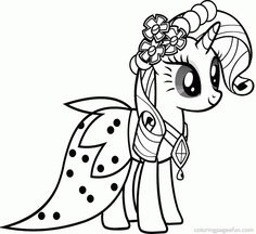 My Little Pony Coloring Pages to Print  Free Printable My Little