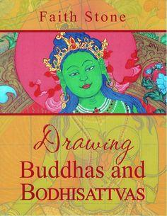 Faith Stone: Drawing Buddhas & Bodhisattvas (e-Book) ~ Dakini As Art Thangka Painting, Tibetan Art, Hindu Art, Buddhist Art, Sacred Art, Little Books, Learn To Draw, Stone Art, Coloring Books