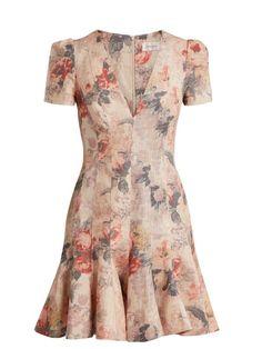 ZIMMERMANN Radiate Flip floral dress. #zimmermann #cloth #