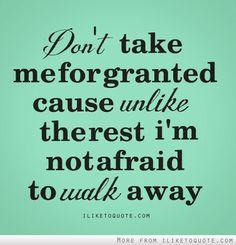 Not afraid at all