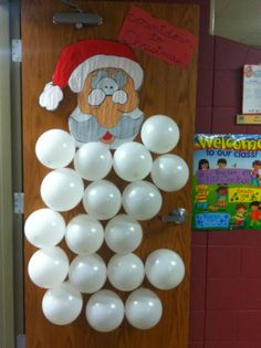 Fill balloons with Christmas book titles or rewards, if class earns it, pop a balloon and see what's inside.