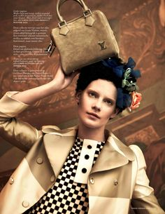 heritage heroes: querelle jansen by ishi for vogue netherlands may 2013 | visual optimism; fashion editorials, shows, campaigns & more!