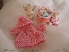 Pink baby set by Elpetitmondelalluna on Etsy,