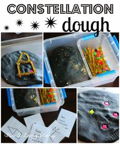 It's a Long Story: Constellation Dough...aha this gives me an idea for teaching/finding the constellations: create a web of constellations which connects one to another through common joints.