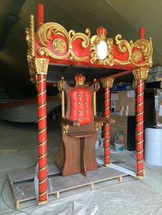 Kynren — Lancelot & Cie réalise toutes sortes de décors sculptés