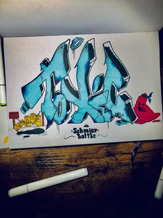 By @kash.two #lettering #graffiti #graffitiart #graffitiletters #graffitisketch #graffitialphabet #graffitilettering Graffiti Drawing, Graffiti Art, Graffiti Letter S, Graffiti Styles, Lettering, Drawings, Simple, Drawing Letters, Sketches