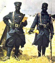 Senegalese Tirailleurs 1915, WW I Ils ont aussi participé à  l'histoire de Madagascar.
