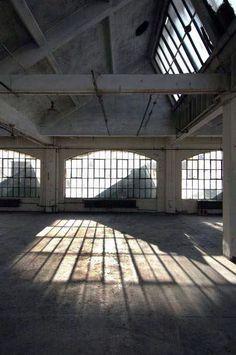old factory = dream studio space