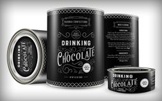 DRINKING CHOCOLATE PACKAGING - Daniel Cantada Design