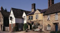 The George Inn is one of Lacock's three centuries-old pubs