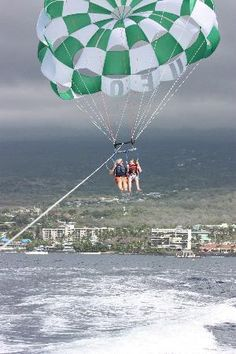 Parasailing was amazing!  So quiet, calm and peaceful.  Except, of course, for our whooping and hollering.