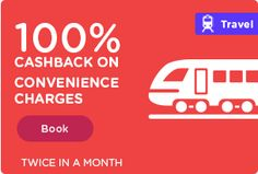 100% ‪#‎Cashback‬ on Convenience charges. Hurry Up! Booking Bus Ticket Online from MobiKwik App click https://goo.gl/Bn8i49 & Download App.