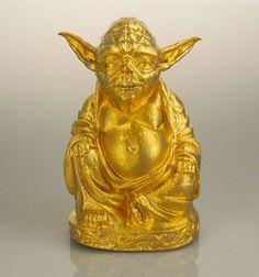 Star Wars - Yoda Zen (or brillant)