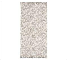 Lisette Scroll Linen Sheer Drape | Pottery Barn