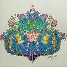 Inspirational Coloring Pages by Sandra Guimarães #inspiração #coloringbooks #livrosdecolorir #jardimsecreto #secretgarden #florestaencantada #enchantedforest #reinoanimal #animalkingdom #adultcoloring #milliemarotta #lostocean #oceanoperdido #johannabasford
